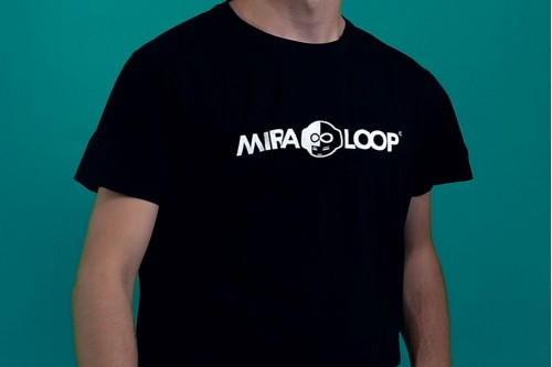 Miraloop T-shirt - Sport - Nera